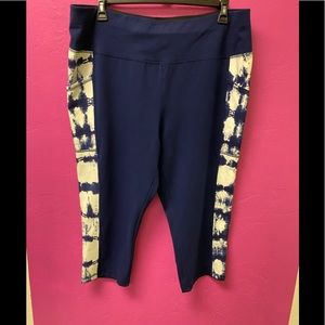 St. John's Bay Active Wear Crop Pants Pockets 2X